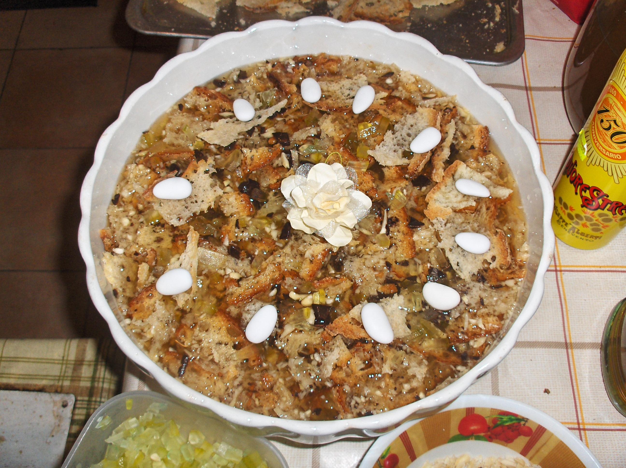 Zuppa della sposa, piatto tipico della Comunità Ospitale di Barrea